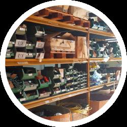 Suivi de stock pièces détachées et équipements
